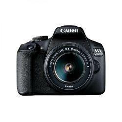 Canon EOS 2000D black with lens 18-55mm IS 16GB - SB130 kit, digitalni fotoaparat s objektivom, 2728C029AA