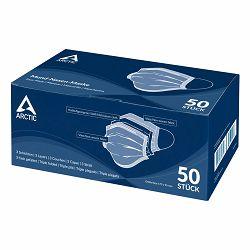 Zaštitne maske za lice troslojne, jednokratne (50 kom) Arctic, AOMIS00007A