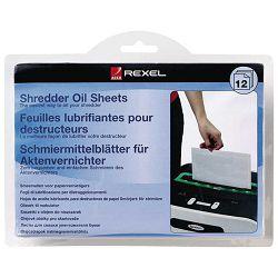 Rexel  list uljni za podmazivanje uništavača A5 pk12 Rexel 2101948 blister
