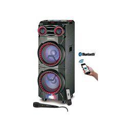 MANTA karaoke razglas 100W, BT, FM, disco svjetla, daljinski, mikrofon SPK6011