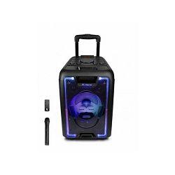 iDance karaoke MEGABOX 1000, 200W, FM, BT, disco LED, bežični mikrof, daljinski