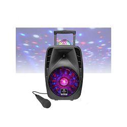 iDance karaoke Groove 426, BT, disco LED, mikrofon, baterija, kotačići