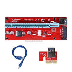 Adapter Extender Riser Card USB 3.0 to PCI-E, Ver 007s