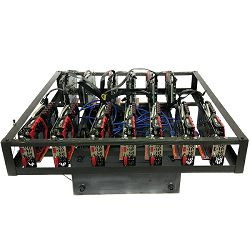 ADM Mining Kit Gaming X 1050Ti, 13x GTX1050Ti, 13x Riser, 2x Fractal 750W, H110 Pro BTC+, G3930, 8GB DDR4, 120GB SSD, ADM Mining kućište, Win 10 Home
