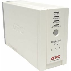 APC BK650EI - Back UPS        650VA /400W, 5/15 min. RS232 software, 11h punjenje