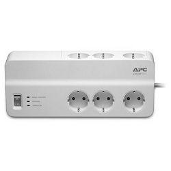 APC PM6-GR, Prenaponska zaštita za računala i elektroničku opremu. 6 šuko utičnica. Duljina kabela