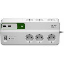 APC PM6U-GR Essent. Prenaponska zaštita + USB