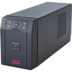 APC SC420I SMART UPS 420VA/ 260W, 5/13 min, Stepped sinewave, RS232 smart sig. Software 4,5 h punje