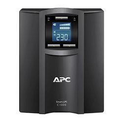 APC SMC1000I, Smart-UPS SC 1000VA/600W • LCD • runtime 7/20 min • Pure sinewave • USB veza • RJ-45