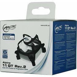 Arctic Alpine 11 GT Rev. 2, Socket: 775, 1150, 1151, 1155, 1156, UCACO-AP112-GBB01