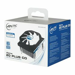 Arctic Cooling Alpine 20 Plus, Socket: 2011, 2011-3, 2066, UCACO-AP11401-BUA01