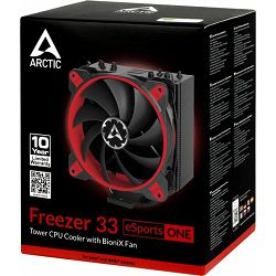 Arctic Freezer 33 eSports ONE red, Socket: 1150, 1151, 1155, 1156, 2011, 2011-3, 2066, AM4, ACFRE00042A