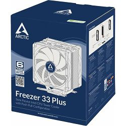 Arctic Freezer 33 Plus, Socket: 1150, 1151, 1155, 1156, 2011, 2011-3, 2066, AM4, ACFRE00032A