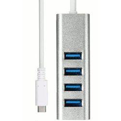 Asonic HUB USB 3.0 4 port, Tip C, aso-hub-nuh325-c