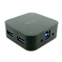 Asonic USB 3.0 4Port Hub, metalno kućište +5V napajanje (220V)