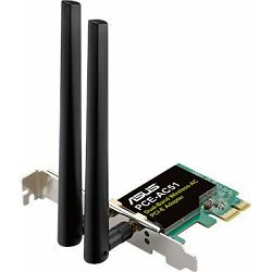 ASUS PCE-AC51 PCIe Wifi, SMA ant