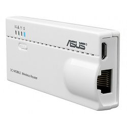 Asus WL-330N 5-in-1 Wireless-N150 Mobile Router, Ultra-portability with Footprint Smaller Than a Cr