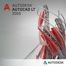 Autodesk Autocad 2018 LT single user godišnja pretplata