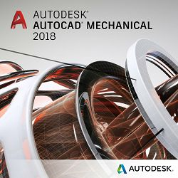 Autodesk Autocad Mechanical 2018 single user dvogodišnja pretplata