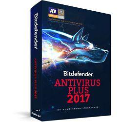 BitDefender Antivirus Plus 2017, 3 licence 1g