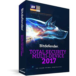 Bitdefender Total Security Multi-Device 2017, 5 uređaja 1 godina