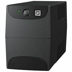 C-Lion Aurora 850, 850VA/480W, AVR (Boost and Buck AVR funkcija) , Line interactive, USB, 2 x RJ45,
