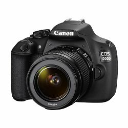 Canon EOS 1200D + objektiv 18-55, Digitalni SLR fotoaparat, 18 megapiksela, Priključak objektiva: E
