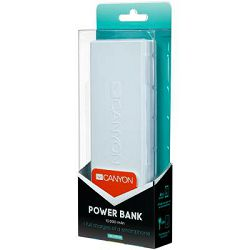 Canyon Powerbank 10000mAh White, H2CNECPBF100W