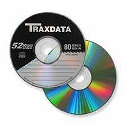 CD medij Traxdata 52x, 1 komad