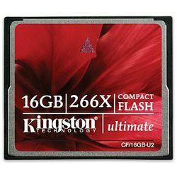 CompactFlash 16GB Kingston CF Ultimate 266x, CF/16GB-U2