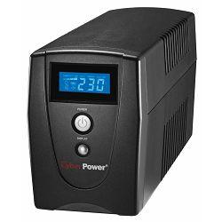 CyberPower 1000EILCD, 1000VA/550W, line-int., Euro, desktop, Izlazna snaga 550 W, Tehnologija Line