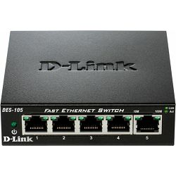 D-Link DES-105/E (metalno kućište)