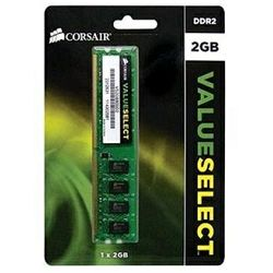 DDR2 2GB (1x2GB) PC2-6400 800MHz CL5 Corsair Value, VS2GB800D2