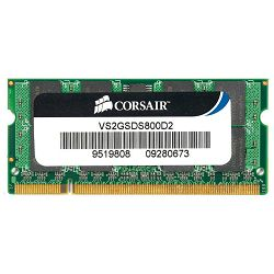 DDR2 2GB PC2-6400 800MHz CL5, Corsair, VS2GSDS800D2, sodimm