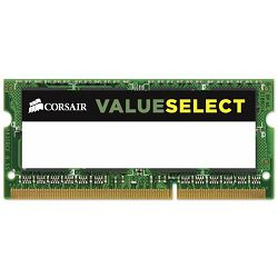 DDR3 2GB (1x2) Corsair 1333MHz Value sodimm, CMSO2GX3M1A1333C9