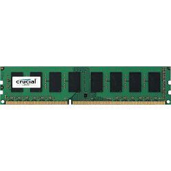 DDR3 8GB (1x8GB) PC3L-12800E 1600MHz CL11 Crucial ECC, CT102472BD160B