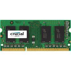 DDR3 8GB (1x8GB) PC3L-12800S 1600MHz Crucual SoDimm For Mac