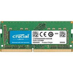 DDR4 16GB (1x16) Crucial 2400MHz sodimm For Mac CL17, CT16G4S24AM