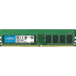 DDR4 16GB (1x16GB) PC4-21300E 2666MHz CL19 Crucial ECC, CT16G4WFD8266