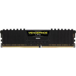 DDR4 16GB (1x16GB) PC4-24000U 3000MHz CL16 Corsair Vengeance LPX, CMK16GX4M1D3000C16