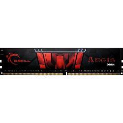DDR4 16GB (1x16GB) PC4-24000U 3000MHz CL16 G.Skill Aegis, F4-3000C16S-16GISB