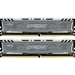 DDR4 16GB (2x8) PC4-19200U 2400MHz CL16 Crucial, BLS2C8G4D240FSB
