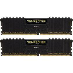 DDR4 16GB (2x8) Corsair 2400MHz LPX Black, CMK16GX4M2A2400C14