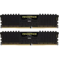 DDR4 32GB (2x16) Corsair 2666MHz LPX Black, CMK32GX4M2A2666C16