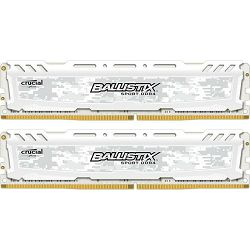 DDR4 16GB (2x8) Crucial 2400MHz Ballistix Sport LT White, BLS2C8G4D240FSC
