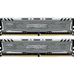 DDR4 16GB (2x8) Crucial 2666MHz Ballistix Sport LT Grey, BLS2C8G4D26BFSB