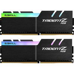 DDR4 16GB (2x8) G.Skill 2933MHz Trident Z Series RGB, for AMD, F4-2933C14D-16GTZRX