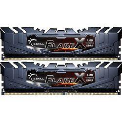 DDR4 16GB (2x8) G.Skill 3200MHz Flare X, F4-3200C14D-16GFX