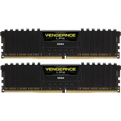 DDR4 16GB (2x8) Corsair 3200MHz LPX Black, CMK16GX4M2B3200C16