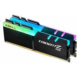 DDR4 16GB (2x8GB) PC4-28800U 3600MHz CL 17 G.Skill Trident Z RGB, F4-3600C17D-16GTZR
